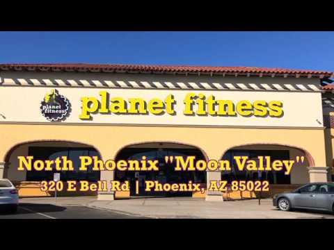 Planet Fitness North Phoenix Moon Valley Youtube