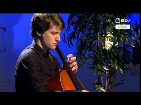 """Marcel Johannes Kits """"Sarabande 5. tsellosüidist"""""""