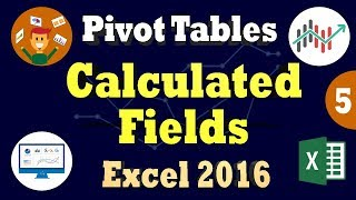 Create a Calculated Field in Excel Pivot Table 2016 - Pivot Table Formulas Tips 2018