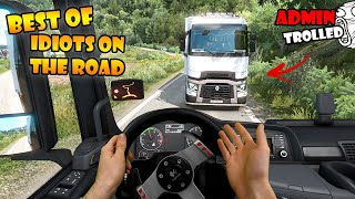 ★ BEST OF Idiots on the road - ETS2MP - Ep. 71-80   Tony 747 - Best moments + REAL Hands