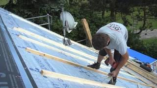 Dachsanierung mit Zimmerei OTT