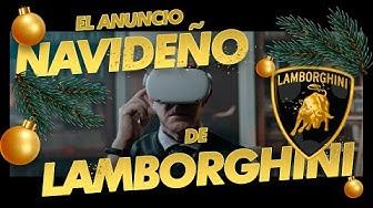 Imagen del video: LAMBORGHINI y su INCREÍBLE ANUNCIO NAVIDEÑO ❄️