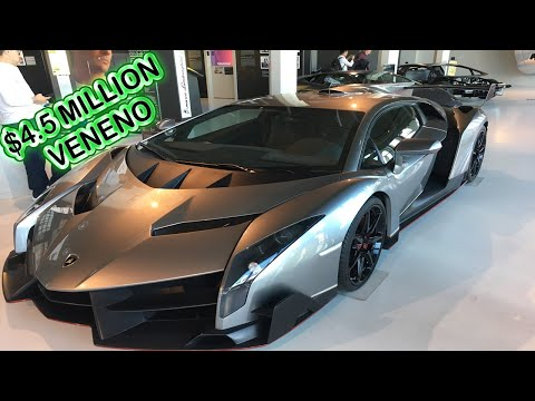 LAMBORGHINI MUSEUM TOUR IN BOLOGNA ITALY!! Check out these crazy cars!