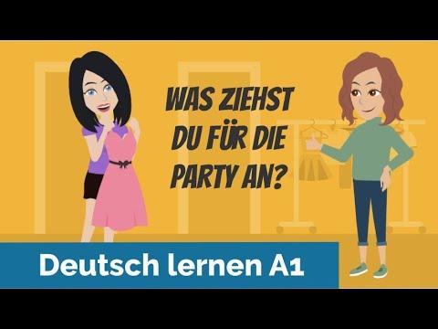 """Deutsch lernen mit Dialogen / Lektion 10 / trennbare Verben / Aussprache """"äu"""" """"eu"""" / Hörverstehen"""