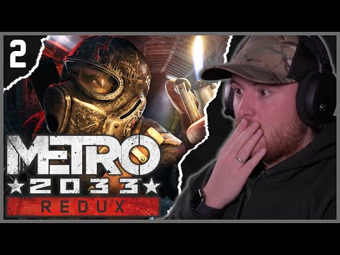 Royal Marine Plays METRO 2033 For The First Time! PART 2!
