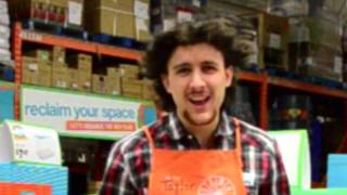 Home Depot (let it go) Home Depot Stars Audition (2015)
