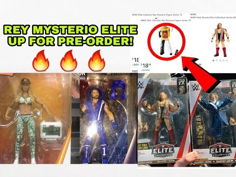 NEW WWE ELITE FIGURES HITTING STORES + MORE