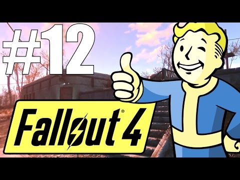 Fallout 4 Lets Play - Part 12 - National Guard Training Yard! (Survival Mode)