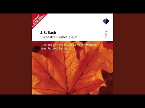 Bach, JS : Orchestral Suite No.1 in C major BWV1066 : V Menuet