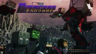 Minecraft Avengers Endgame / Batalla Final