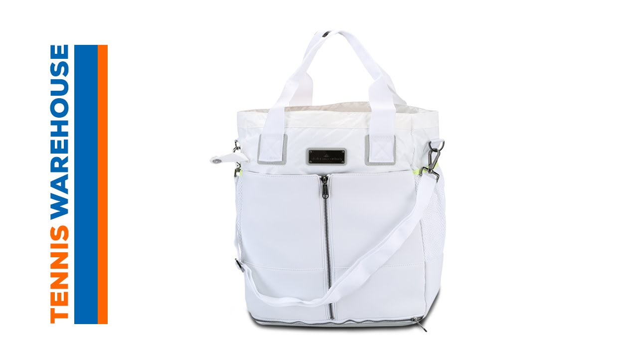 ef1a4ca286 adidas Fall Stella McCartney Tennis Bag - YouTube