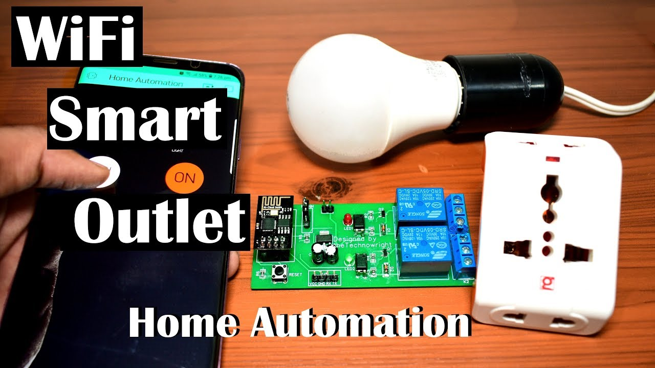 DIY Home Automation using ESP8266 & Blynk || IoT Project