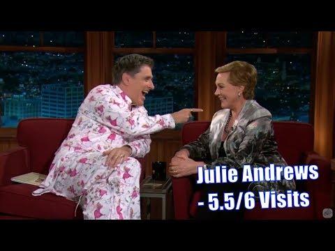 Julie Andrews - Craig Brings Out Her Inner Child - 5.5/6 Visits In Chronological Order