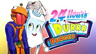 Working 24 Hours Straight at Durr Burger in Fortnite