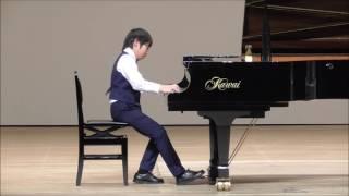 第13回中津An die Musikピアノコンクール 小5・6年課題曲コース 第1位 池永 陽音