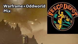 Warframe Meets Oddworld: Ceres/FeeCO Depot Mix