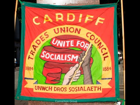 Jeremy Corbyn Support Rally by Cardiff Trades Union Council
