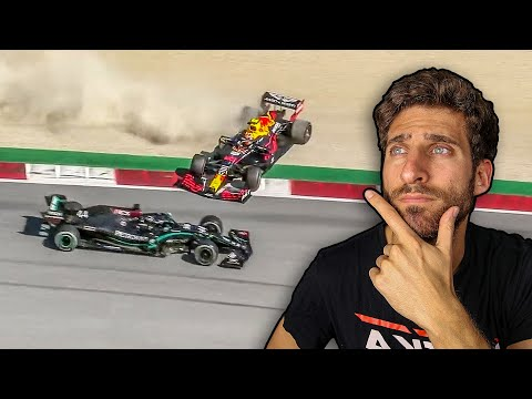 HAMILTON VS ALBON CRASH - Why was Hamilton penalized? - Formula 1 2020 Gp Austria