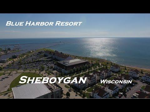 Blue Harbor Sheboygan Wisconsin Drone Footage