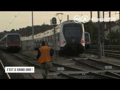 RATP Travaux été RER A 2017 :  reprise du trafic