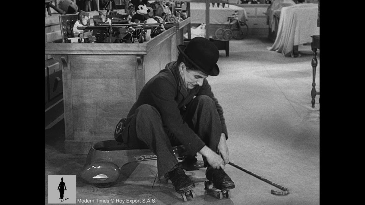 Maudit charlie chaplin modern times gif on gifer by dazar.