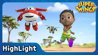 Run! Run! Super Speed! | SuperWings Highlight | S1 EP11