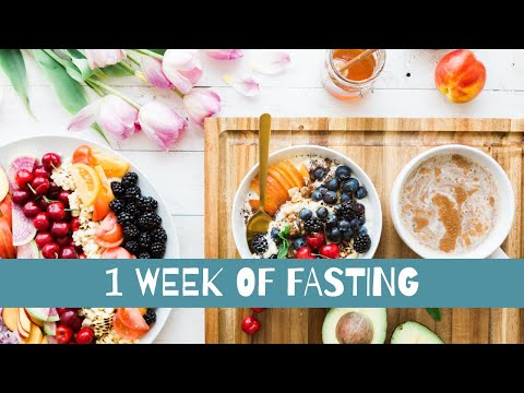 One week of fasting Fast 800 diet | 800 calories a day | What I ate over one week 800 calorie diet