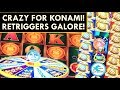 WINNING ON KONAMI SLOTS THANKS TO RETRIGGERS! CELESTIAL MOON RICHES, CHIP CITY