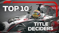 Top 10 F1 Title Deciders
