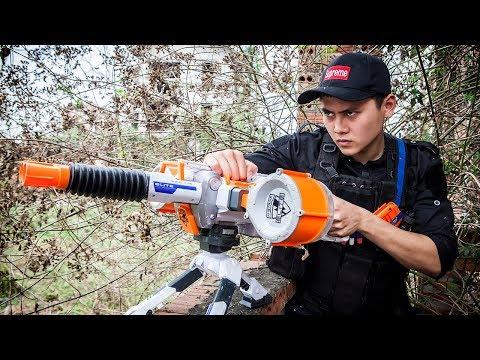 LTT Gaming Nerf Guns : Seal x Use the nerf guns same skill sniper battle attack criminal group