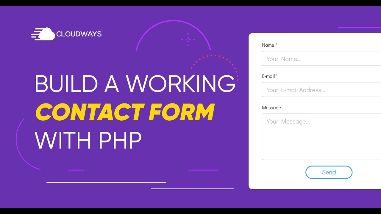 Build a Working Contact Form in PHP