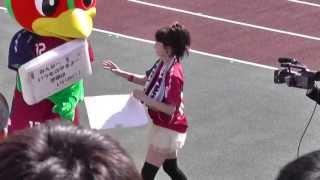 2013.04.21ファジアーノ岡山vsザスパクサツ群馬 13:00キックオフ@カ...