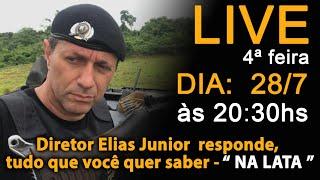 LIVE -  28/7 Quarta-feira as 20:30hs o diretor fala tudo NA LATA