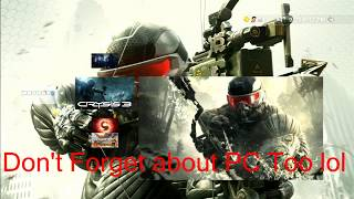 Literally One Person Online - Crysis 3 Online Multiplayer (Servers Shutting Down Oct 11th 2018)