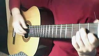 Фрагмент урока - гитарные приемы для украшения аккомпанемента