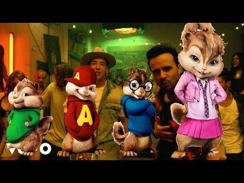 Luis Fonsi - Despacito ft. Daddy Yankee  (Alvin y las Ardillas)