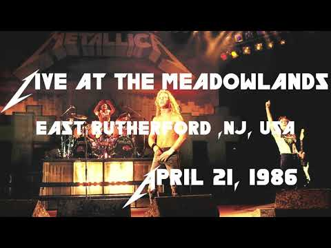 Metallica - Live at The Meadowlands, East Rutherford, NJ, USA (1986) [SBD Audio Only]