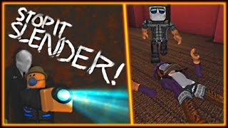Roblox Funny Moments - Wolfy vs. Slender