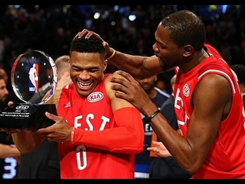 Russell Westbrook Wins All-Star Game Kia MVP Award