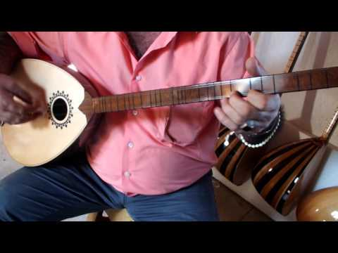 ROJ ::  KURDISH STRING INSTRUMENT  BOUZOUK BUZUQ   WITH  MONO JACK !!!!!!!!