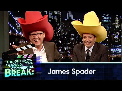 Jimmy Fallon and James Spader During Commercial Break (Late Night with Jimmy Fallon)