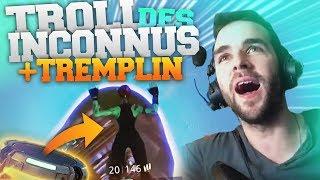 🥇 EPIC ► LE MEILLEUR TROLL AUX INCONNUS + TREMPLIN ULTIME !! A VOIR! (Fortnite Battle Royale FR)