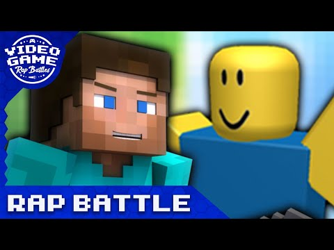 Minecraft Vs Roblox Video Game Rap Battle Youtube