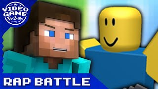 Minecraft vs. Roblox - Video Game Rap Battle