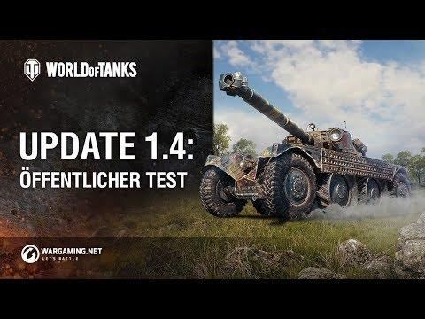 Update 1.4: Öffentlicher Test [World of Tanks Deutsch] thumbnail