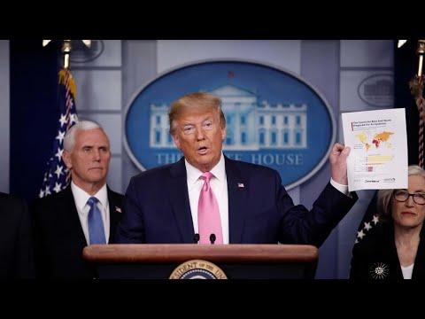 Coronavirus: les États-Unis sont prêts à faire face, affirme Donald Trump