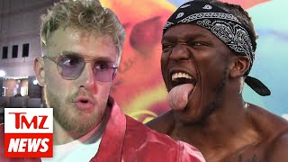 Jake Paul Says KSI Is 'Ducking Him,' Super Fight Heating Up | TMZ NEWSROOM