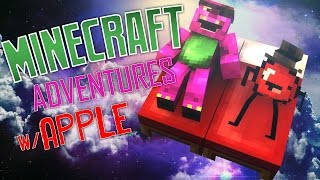 DREAMING WITH APPLE - Minecraft Adventures w/ Apple (Asleep Adventure Map)