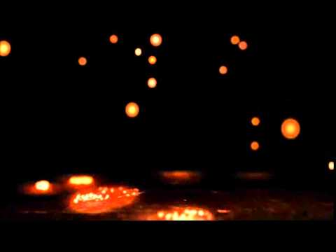 After Effects particle sparks moving background worship loop HD