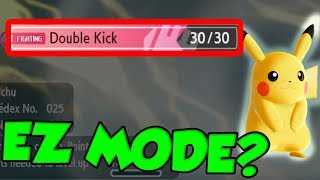 DOUBLE KICK PIKACHU BREAKS POKEMON LET'S GO! thumbnail